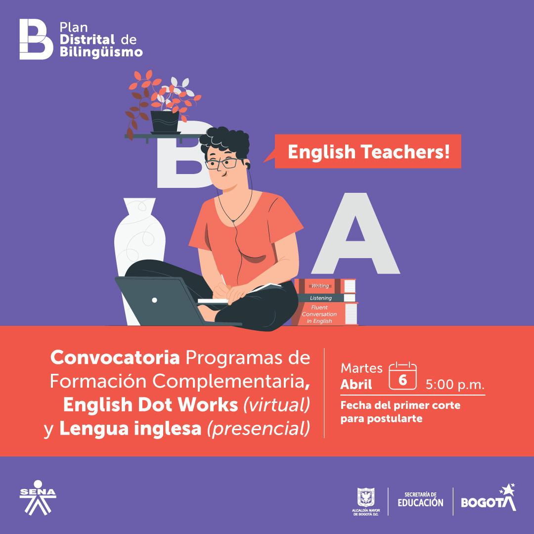 plan distrital de bilinguismo -SENA- SECRETARIA DE EDUCACION